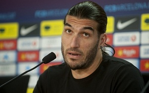 Pinto chce zostać na kolejny rok w Barçy