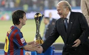 Blatter: Konkurencja pomiędzy Messim a Cristiano jest groźna