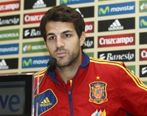 Cesc: Musimy pokazać najlepszą Hiszpanię