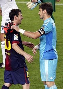 Iker Casillas zawsze szanował Leo Messiego