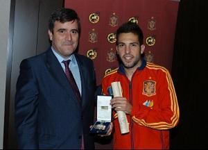 Jordi Alba uhonorowany