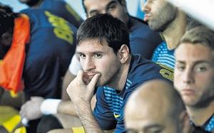 Messi na ławce w meczu Deportivo-Barça?
