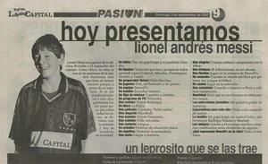 Pierwszy wywiad z Leo Messim