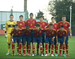 Adama Traore jednym z bohaterów spotkania Hiszpanii U17