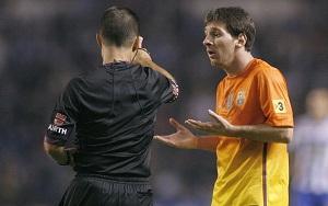 Paradas Romero nie zatrzymał Messiego