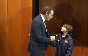 Sandro Rosell spotkał się z Gabrielem