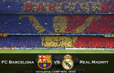 Klasyk, mecz najważniejszy ze wszystkich: FC Barcelona – Real Madryt