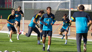 Ostatni trening przed meczem z Deportivo