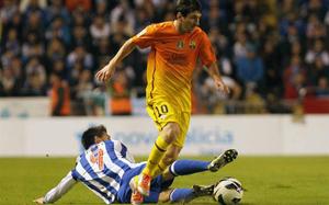 Messi: Żadnego karnego, żadnej kartki