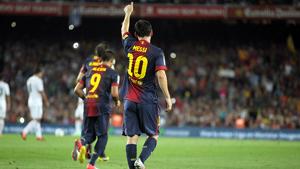 Messi dziesiątym najlepszym strzelcem w historii La Liga
