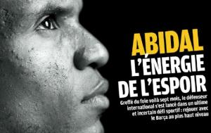 Abidal i Iniesta na łamach France Football