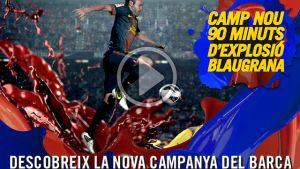 """Camp Nou: 90 minut eksplozji w barwach Blaugrana"""