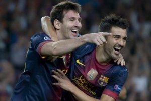 Messi i Villa – dwaj łowcy rekordów