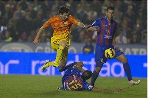 Leo Messi liderem w walce o Złoty But 2012/2013