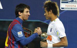 Neymar: Gra u boku Messiego byłaby jak sen