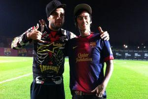 Dani Alves i Kyle Loza