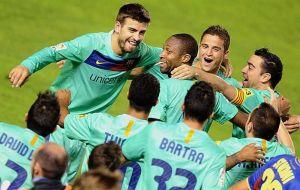 Szczęśliwy teren dla Barcelony