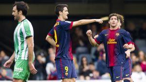 Wysoka wygrana Barcelony B
