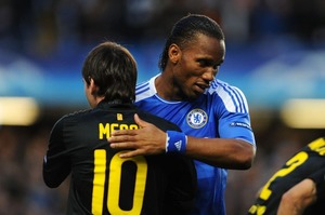 Drogba: Messi i Ronaldo to potwory
