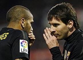 Dani Alves: Nie kontaktowałem Messiego z Neymarem