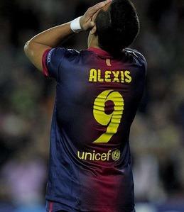 Alexis tylko do asystowania Messiemu?