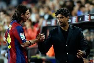 Rijkaard: Lionel Messi jest najlepszym piłkarzem jakiego widziałem