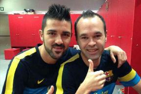 Iniesta i Villa nie odpoczywają