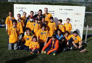 Leo Messi spotyka się z chorymi dziećmi