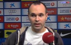Iniesta: Messiemu zabrakło szczęścia