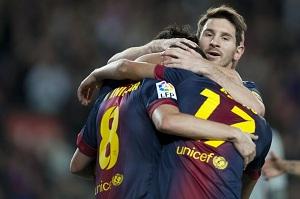 Barça z rekordową ilością bramek