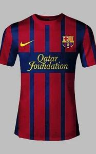 Prawdopodobne koszulki Barçy na sezon 2013/14