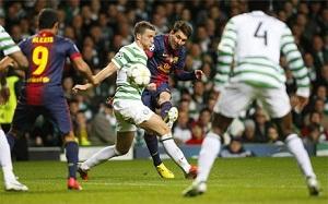 Leo Messi dedykuje gola Thiago