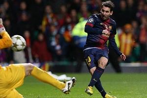 Messi bramkę od rekordu Pelégo