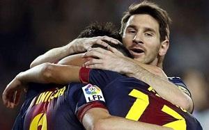 Barça i Messi liderami w rankingach