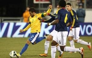 Brazylia remisuje z Kolumbią