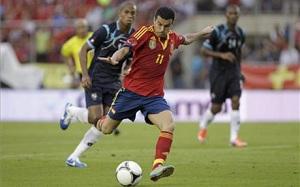 Pedro strzelił prawie połowę bramek La Roja