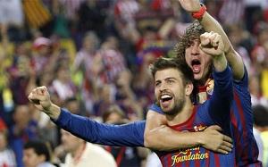 Puyol i Piqué ponownie razem