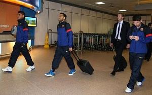 Moskwa przywitała piłkarzy zimnem