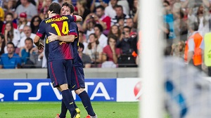 FC Barcelona zakwalifikowała się do kolejnej rundy