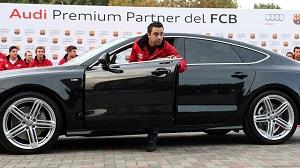 Audi wręcza nowe samochody piłkarzom