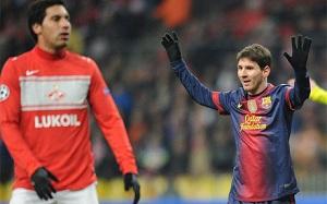 Messi jednym z Pichichi Ligi Mistrzów