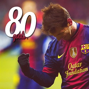 Leo Messi – król dubletów