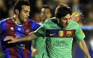 Barça nie przegrała z Levante w XXI wieku