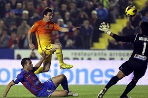Messi niekwestionowanym Pichichi