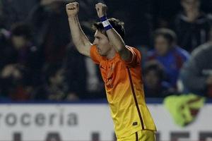 Leo Messi jest z nie tego świata…