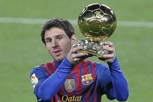 Laureaci Złotej Piłki stawiają na Messiego