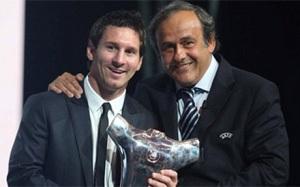 Platini: Jeśli Messi wygra Złotą Piłkę, zasłuży na to