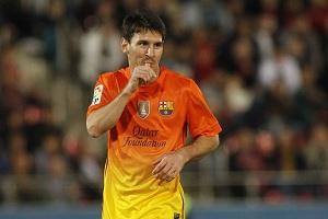 Thiago Messi z wizytą w Ciutat Esportiva