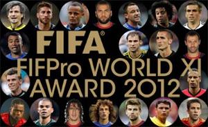 Nominowani obrońcy do FIFA FIFPro World XI 2012