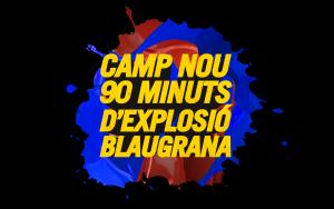 """Z planu """"Camp Nou: 90 minut eksplozji w barwach Blaugrana"""""""